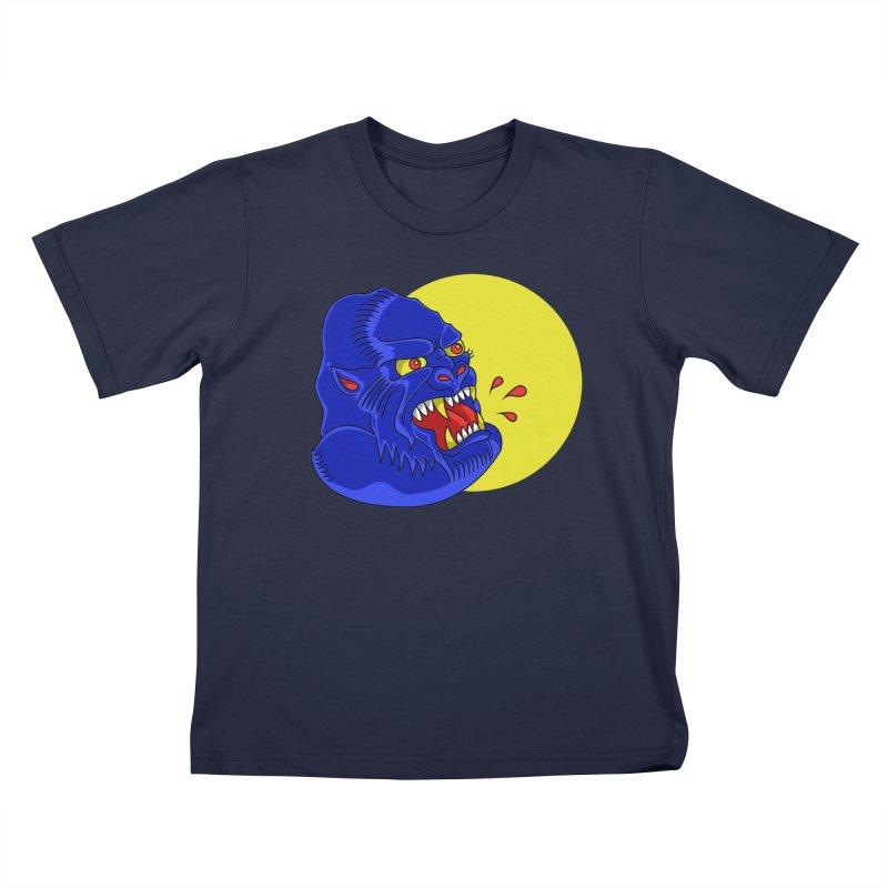 Beast Neck Kids T-Shirt by DEADBEAT HERO Artist Shop