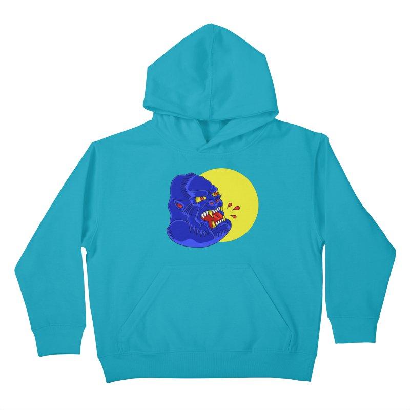 Beast Neck Kids Pullover Hoody by DEADBEAT HERO Artist Shop