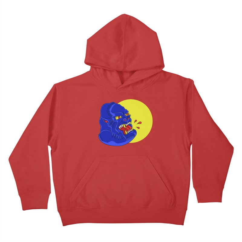 Beast Neck Kids Pullover Hoody by DEADBEAT HERO Artist Shop