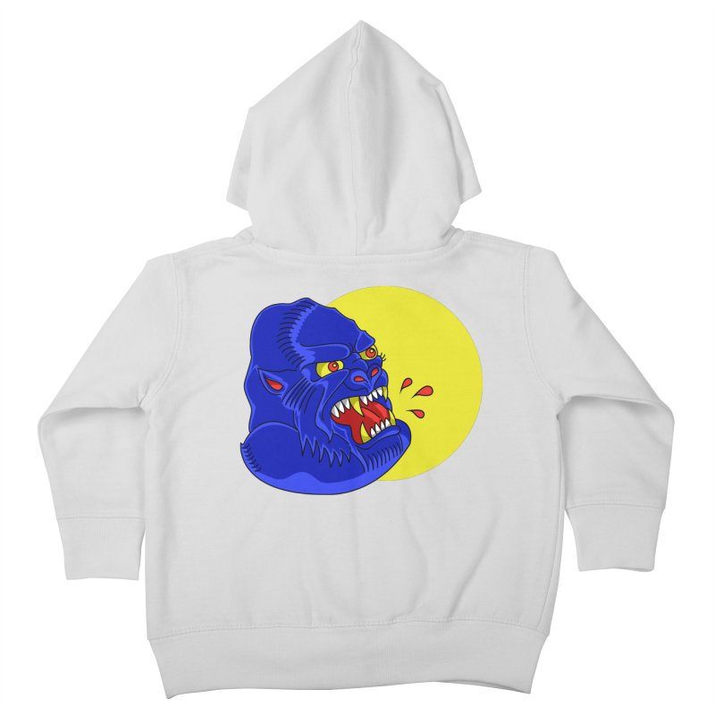 Beast Neck Kids Toddler Zip-Up Hoody by DEADBEAT HERO Artist Shop