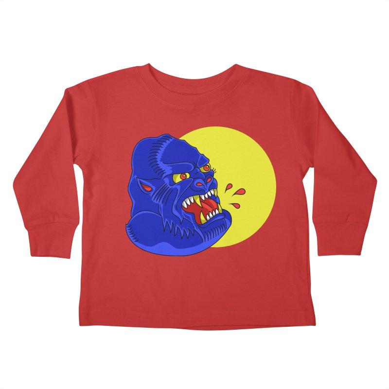 Beast Neck Kids Toddler Longsleeve T-Shirt by DEADBEAT HERO Artist Shop