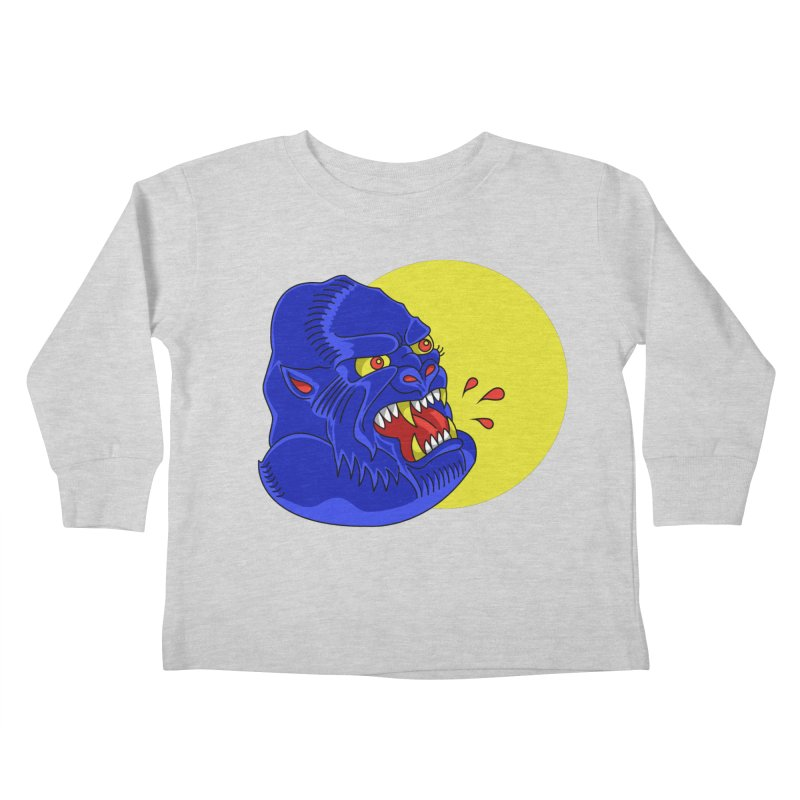 Beast Neck Kids Toddler Longsleeve T-Shirt by DEADBEAT HERO Artist Shop