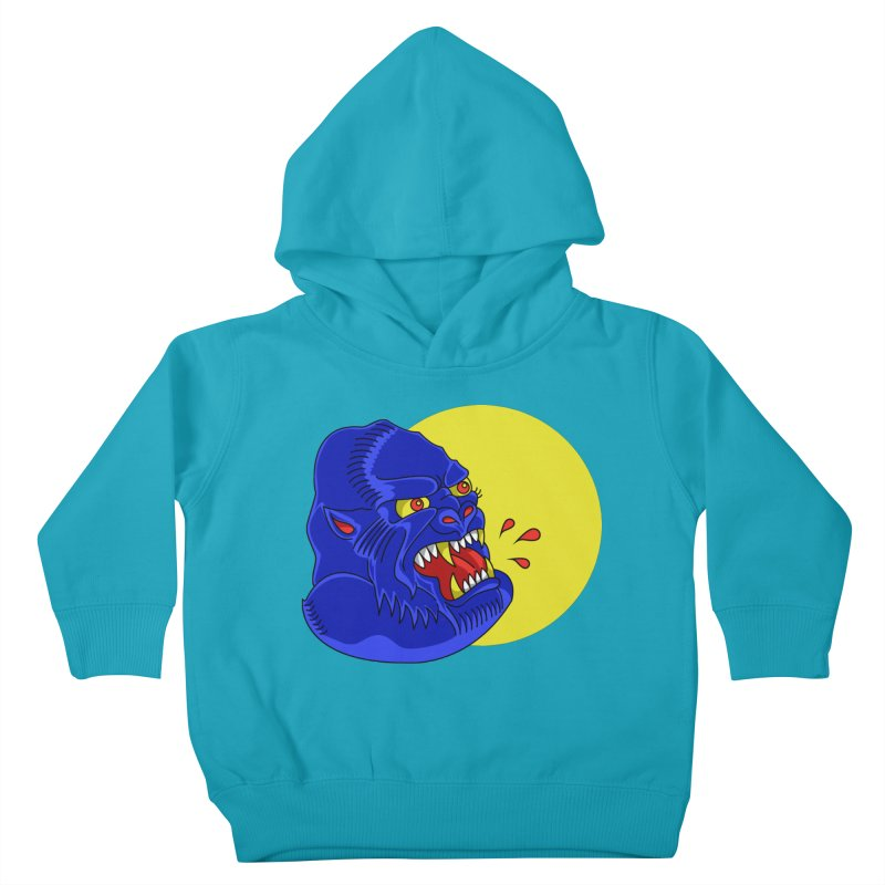Beast Neck Kids Toddler Pullover Hoody by DEADBEAT HERO Artist Shop