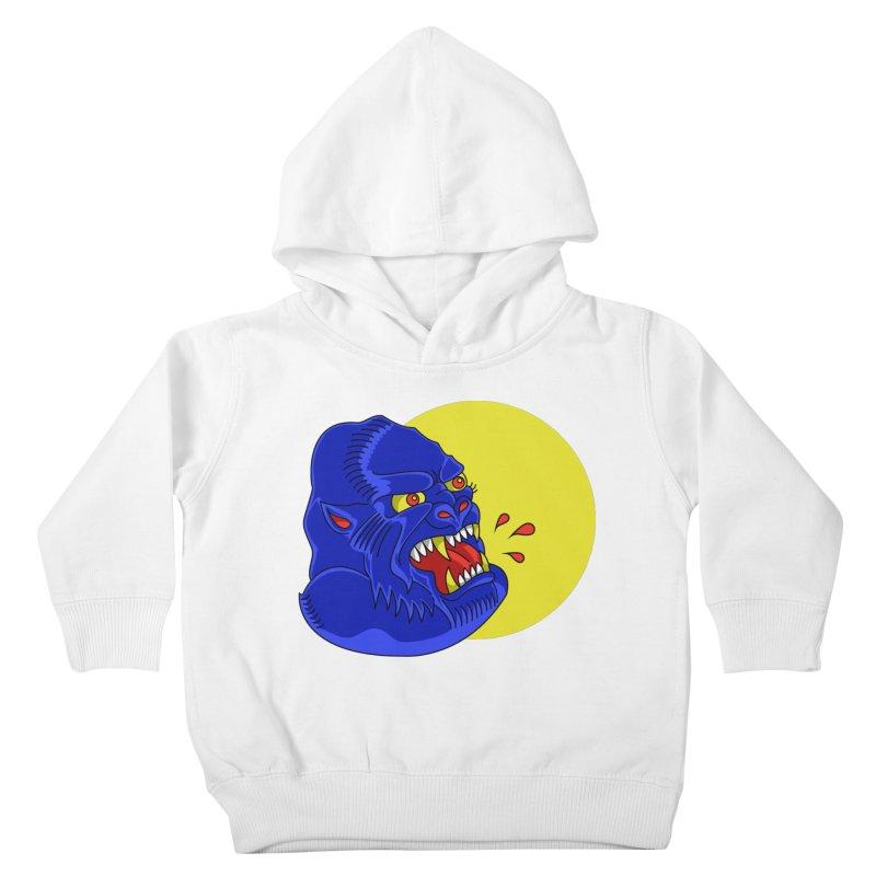Beast Neck Kids Toddler Pullover Hoody by DEADBEAT HERO Artist Shop