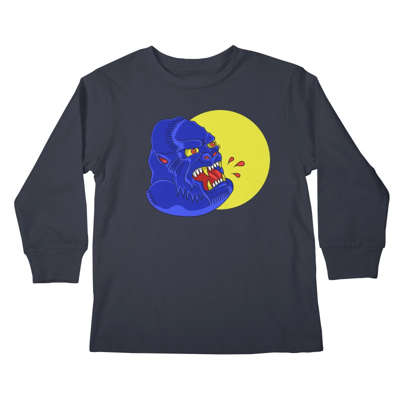 Beast Neck Kids Longsleeve T-Shirt by DEADBEAT HERO Artist Shop