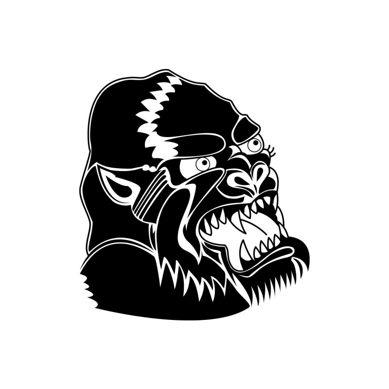 Beast Neck Face by DEADBEAT HERO Artist Shop