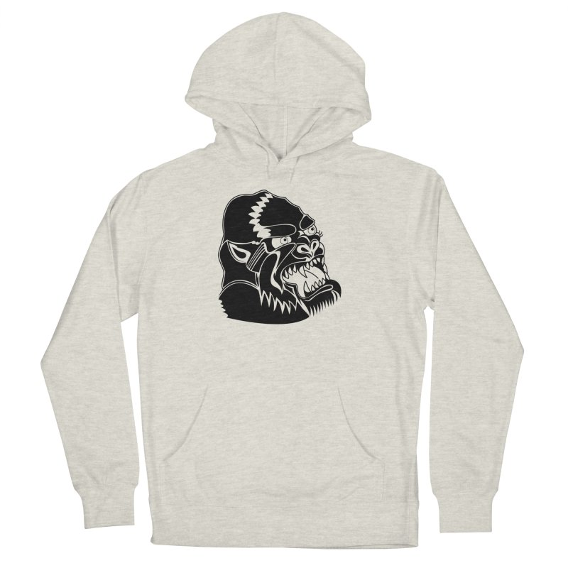 Beast Neck Face Women's Pullover Hoody by DEADBEAT HERO Artist Shop