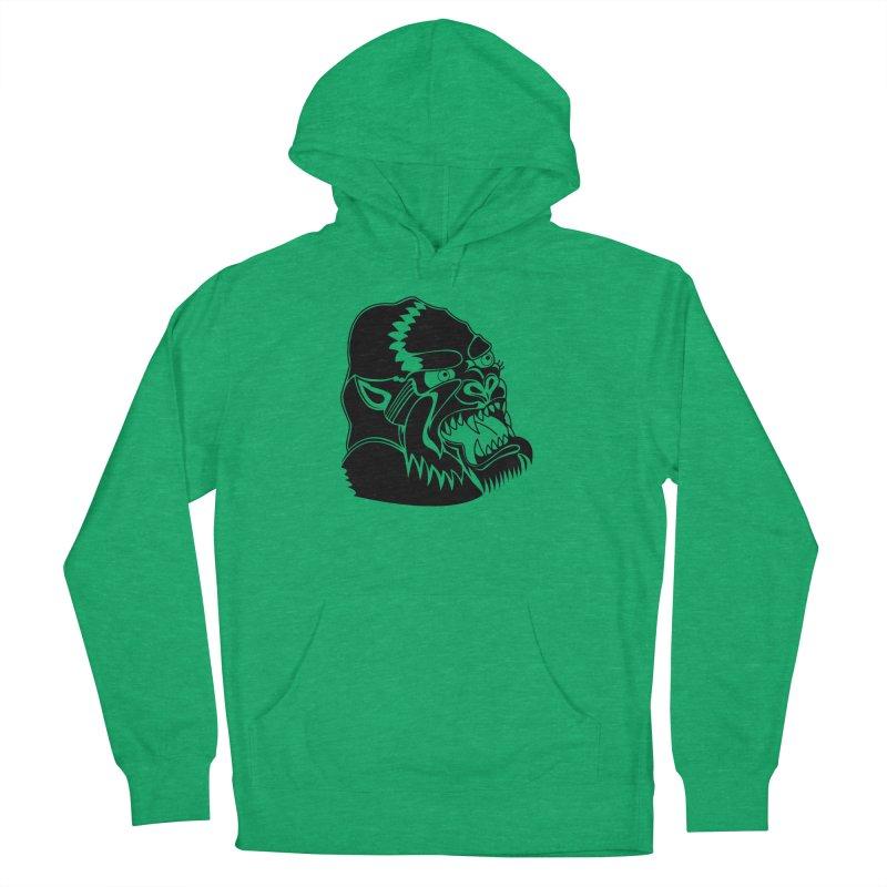 Beast Neck Face Men's Pullover Hoody by DEADBEAT HERO Artist Shop