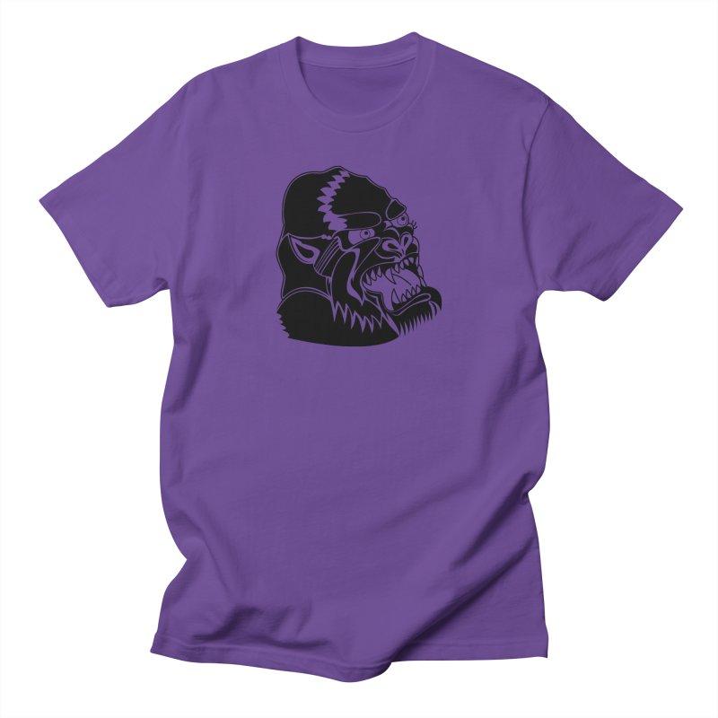 Beast Neck Face Men's T-Shirt by DEADBEAT HERO Artist Shop