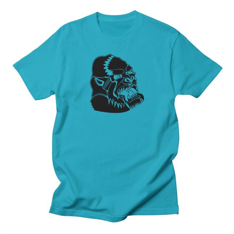 Beast Neck Face Women's Regular Unisex T-Shirt by DEADBEAT HERO Artist Shop