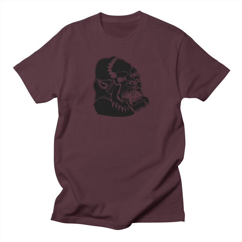 Beast Neck Face Women's Regular Unisex T-Shirt by DEADBEAT HERO Artist Shop