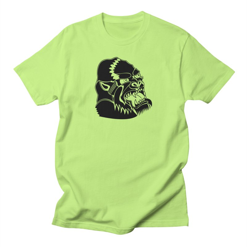 Beast Neck Face Men's Regular T-Shirt by DEADBEAT HERO Artist Shop