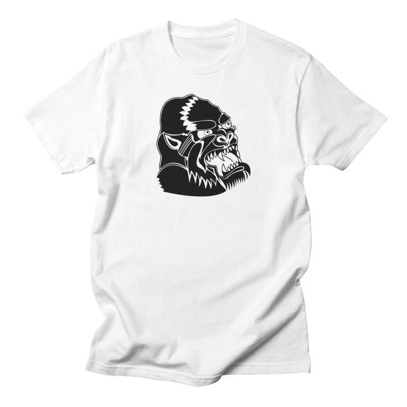 Beast Neck Face Women's Unisex T-Shirt by DEADBEAT HERO Artist Shop