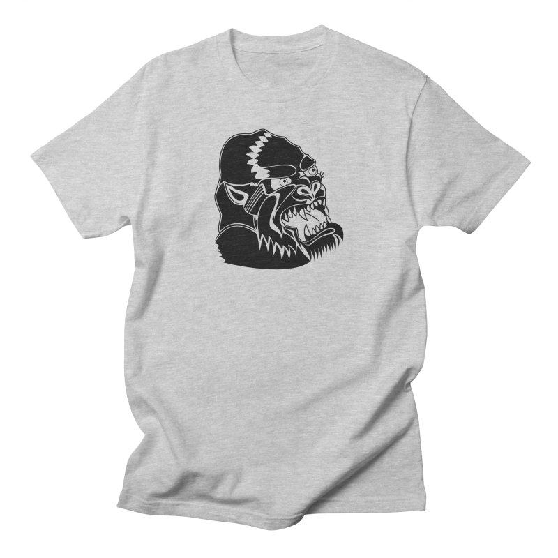 Beast Neck Face Men's Regular T-Shirt by DEADBEAT HERO Artist Shop