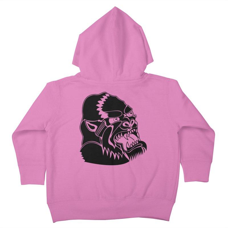 Beast Neck Face Kids Toddler Zip-Up Hoody by DEADBEAT HERO Artist Shop