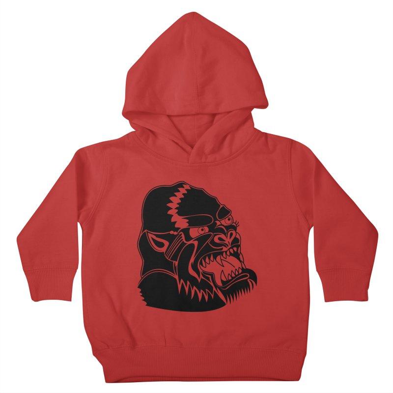 Beast Neck Face Kids Toddler Pullover Hoody by DEADBEAT HERO Artist Shop