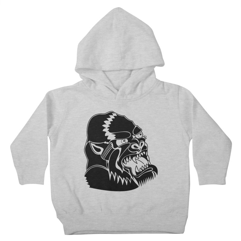 Beast Neck Face Kids Toddler Pullover Hoody by DEADBEAT HERO Artist Shop