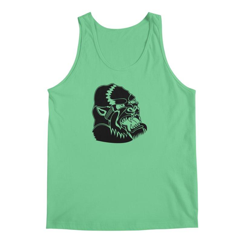 Beast Neck Face Men's Regular Tank by DEADBEAT HERO Artist Shop