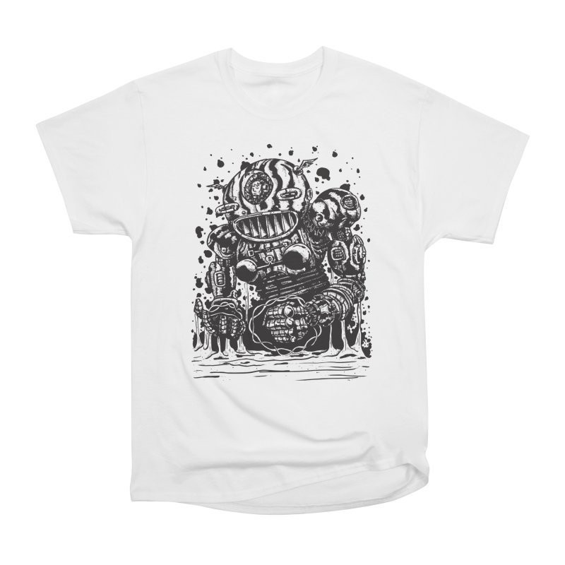 Spaceman tee Women's Heavyweight Unisex T-Shirt by DEADBEAT HERO Artist Shop