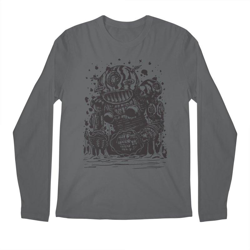 Spaceman tee Men's Regular Longsleeve T-Shirt by DEADBEAT HERO Artist Shop