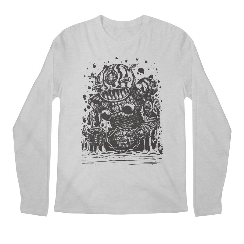 Spaceman tee Men's Regular Longsleeve T-Shirt by DEADBEAT HERO Artist Shop