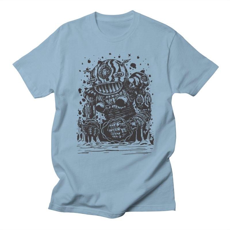 Spaceman tee Women's Regular Unisex T-Shirt by DEADBEAT HERO Artist Shop