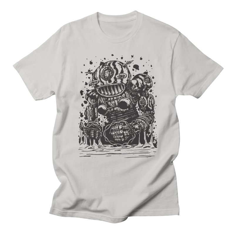 Spaceman tee Men's Regular T-Shirt by DEADBEAT HERO Artist Shop