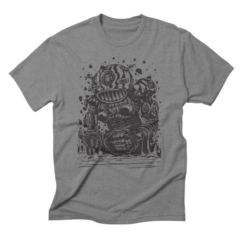 Spaceman tee Men's Triblend T-Shirt by DEADBEAT HERO Artist Shop