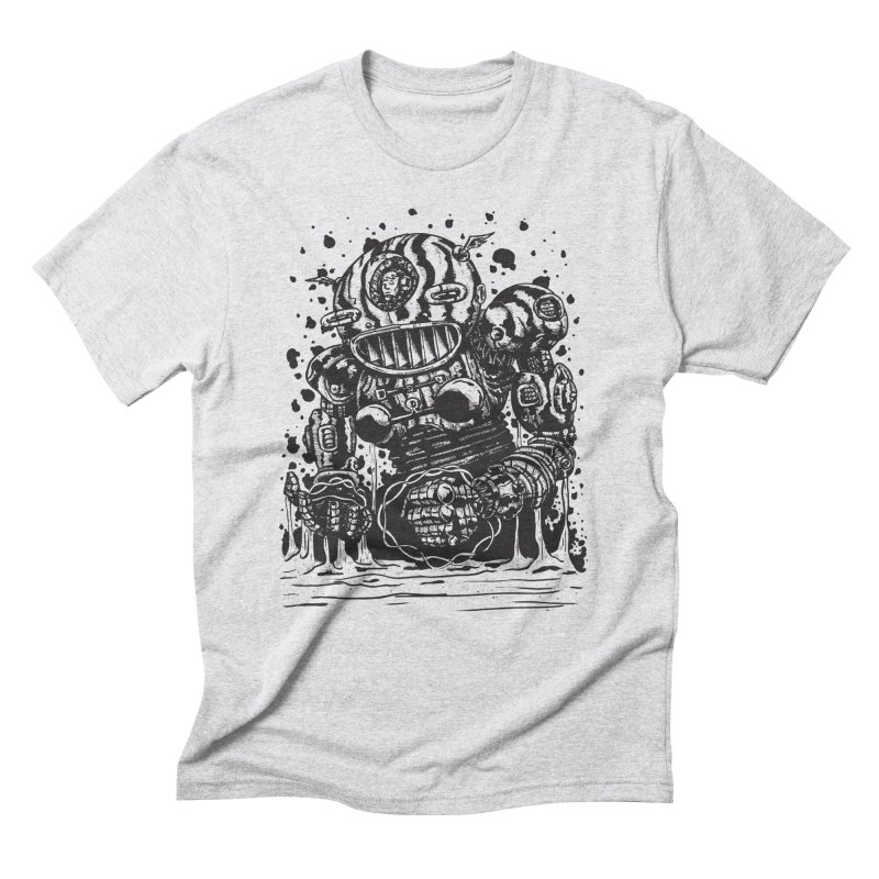 Spaceman tee Men's Triblend T-Shirt by DEADBEAT HERO Artist Shop
