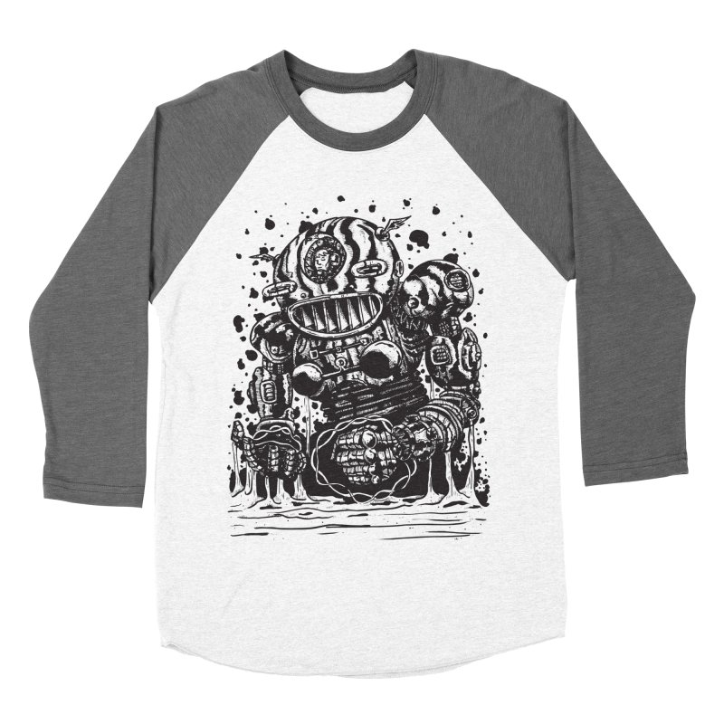 Spaceman tee Women's Longsleeve T-Shirt by DEADBEAT HERO Artist Shop