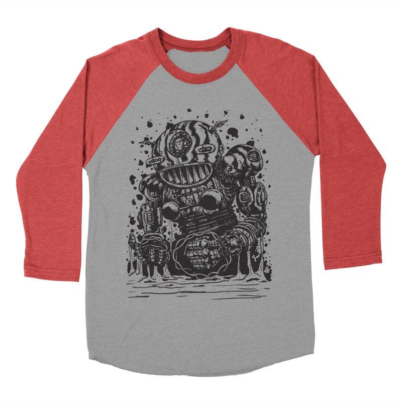 Spaceman tee Women's Baseball Triblend T-Shirt by DEADBEAT HERO Artist Shop