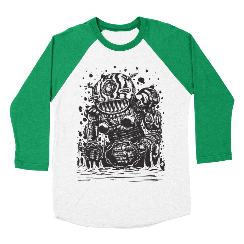 Spaceman tee Men's Baseball Triblend Longsleeve T-Shirt by DEADBEAT HERO Artist Shop