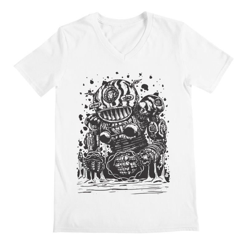Spaceman tee Men's V-Neck by DEADBEAT HERO Artist Shop