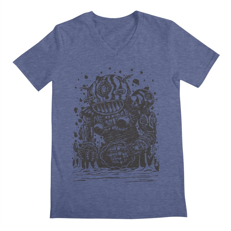 Spaceman tee Men's Regular V-Neck by DEADBEAT HERO Artist Shop