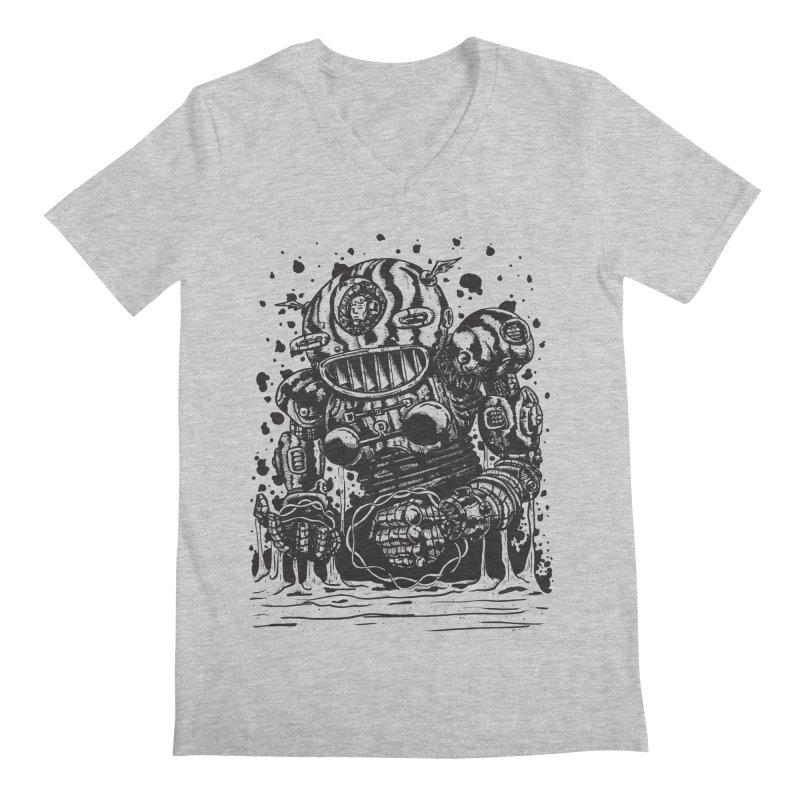 Spaceman tee Men's Regular V-Neck by DEADBEAT HERO Artist Shop