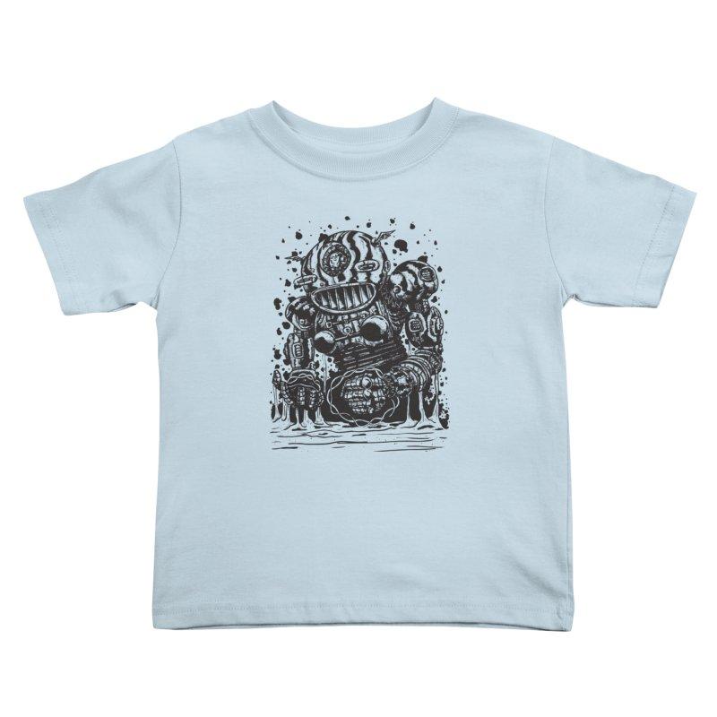 Spaceman tee Kids Toddler T-Shirt by DEADBEAT HERO Artist Shop