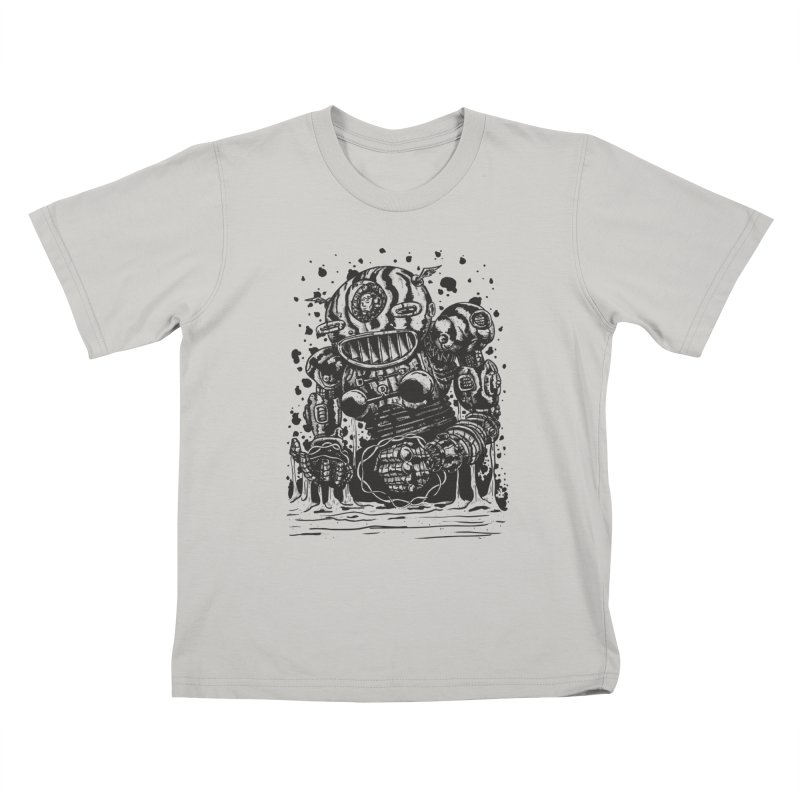 Spaceman tee Kids T-Shirt by DEADBEAT HERO Artist Shop