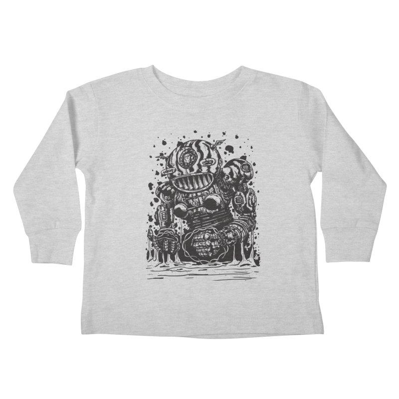 Spaceman tee Kids Toddler Longsleeve T-Shirt by DEADBEAT HERO Artist Shop