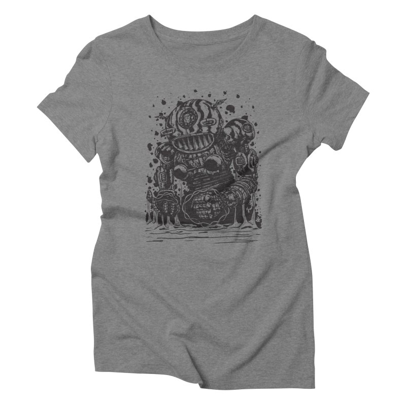 Spaceman tee Women's Triblend T-Shirt by DEADBEAT HERO Artist Shop