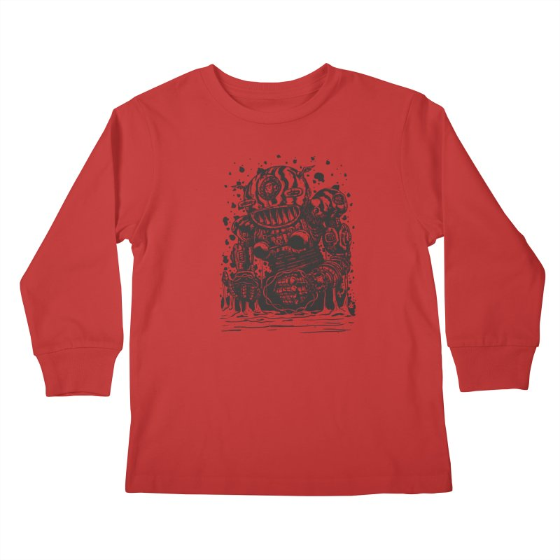 Spaceman tee Kids Longsleeve T-Shirt by DEADBEAT HERO Artist Shop