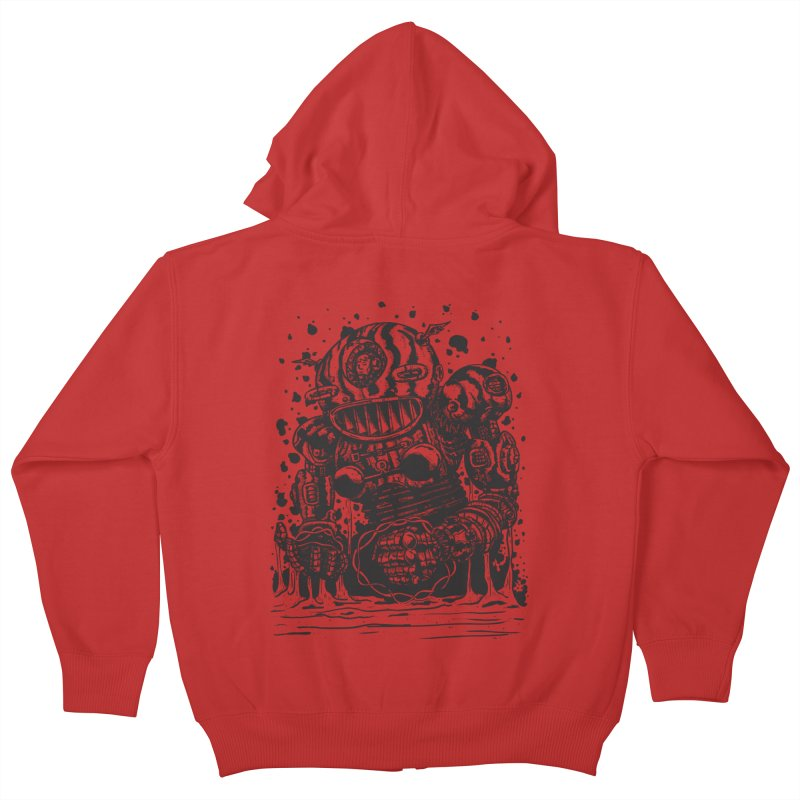 Spaceman tee Kids Zip-Up Hoody by DEADBEAT HERO Artist Shop