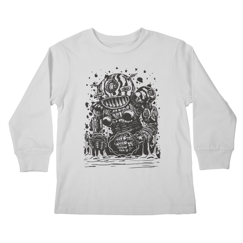Spaceman tee Kids Longsleeve T-Shirt by DEADBEAT HERO Artist Shop