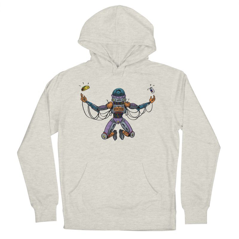 Space Tacos Men's French Terry Pullover Hoody by DEADBEAT HERO Artist Shop