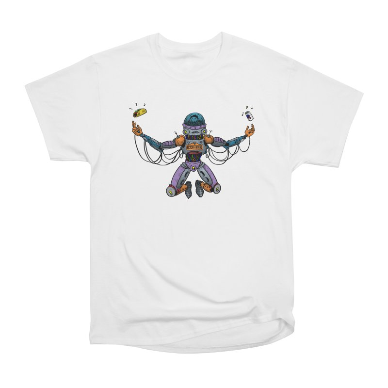 Space Tacos Women's Heavyweight Unisex T-Shirt by DEADBEAT HERO Artist Shop