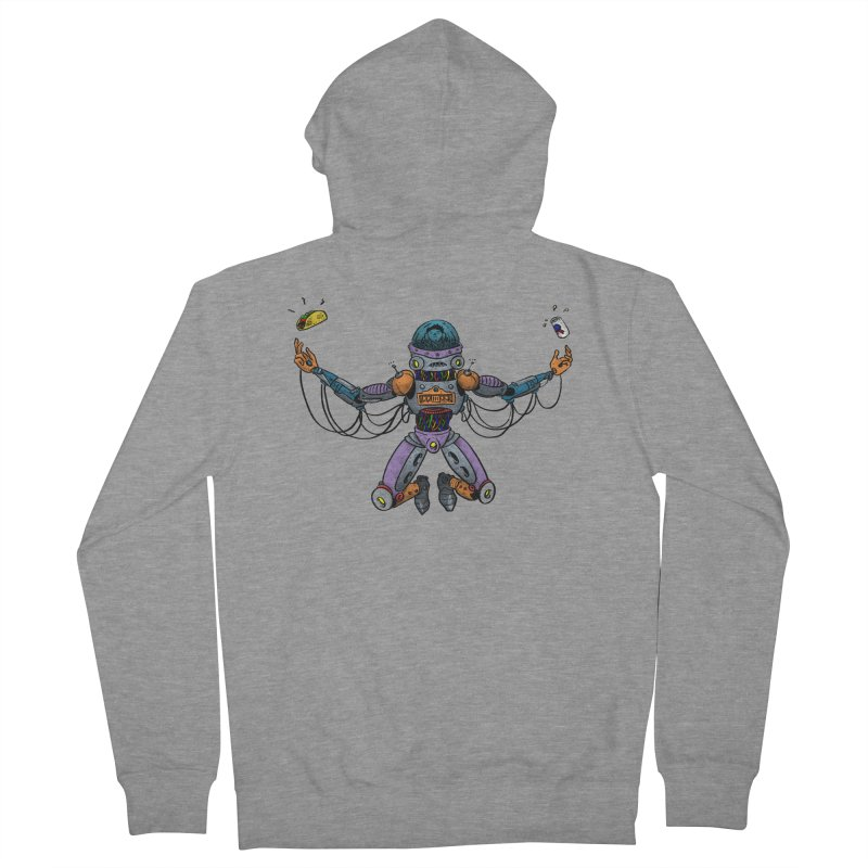 Space Tacos Men's Zip-Up Hoody by DEADBEAT HERO Artist Shop