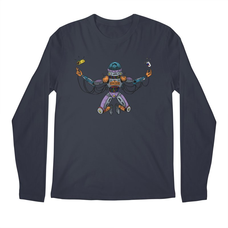 Space Tacos Men's Regular Longsleeve T-Shirt by DEADBEAT HERO Artist Shop