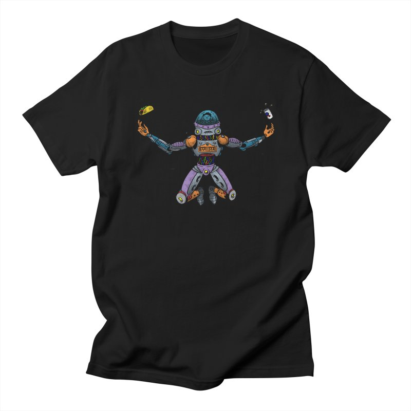 Space Tacos Men's Regular T-Shirt by DEADBEAT HERO Artist Shop