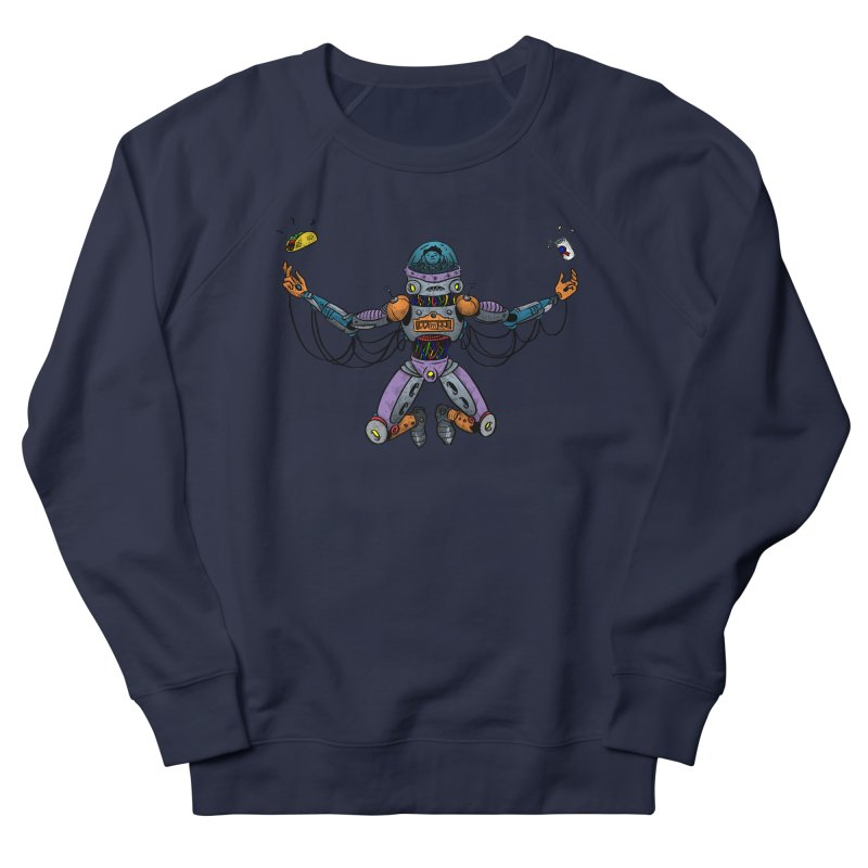 Space Tacos Men's French Terry Sweatshirt by DEADBEAT HERO Artist Shop