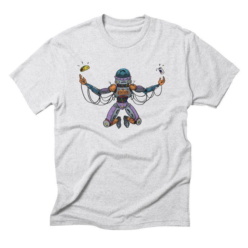 Space Tacos Men's Triblend T-Shirt by DEADBEAT HERO Artist Shop