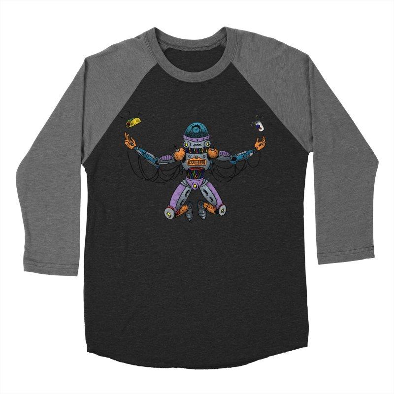 Space Tacos Women's Baseball Triblend Longsleeve T-Shirt by DEADBEAT HERO Artist Shop